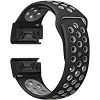 YGGFA Siliconen Horloge Band Polsband Vervanging ForGarmin Fenix 6 6X 6S Pro 5X 5X 5S plus Sport Smart Horloge Armband…