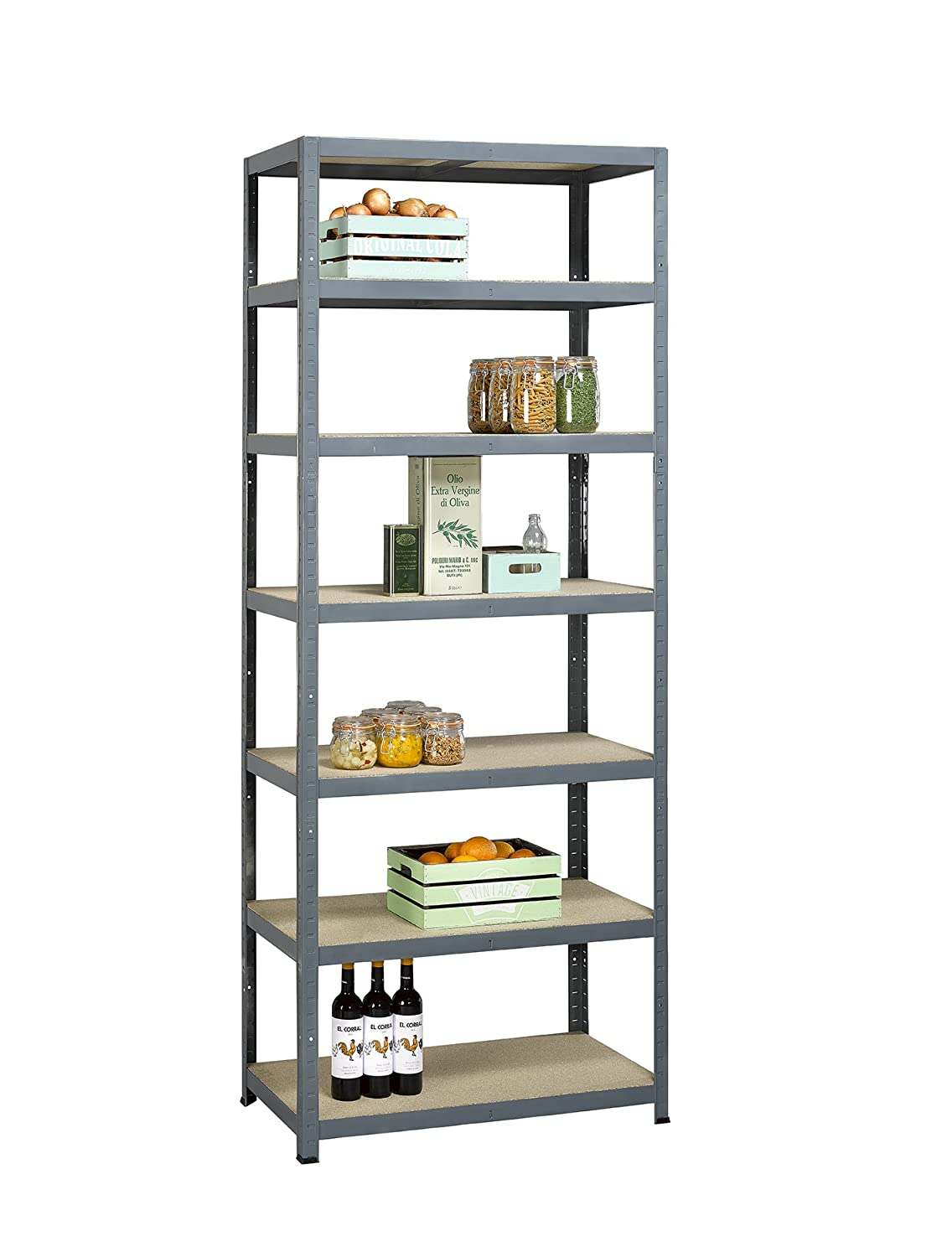 Industrial shelving 40cm height including bolt anchors Racking and Shelving Column Impact Protector//Corner guard: U-Shape pallet racking steelmade Heavy duty shelving