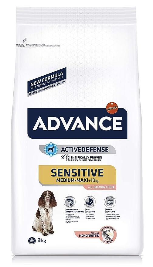 advance dog, Sensitive Salmón y Arroz 3Kg