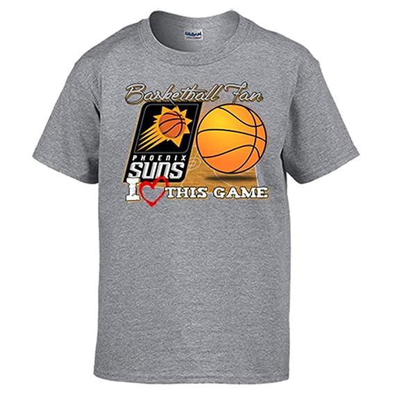 Camiseta NBA Phoenix Suns Baloncesto Basketball fan I Love This Game: Amazon.es: Ropa y accesorios