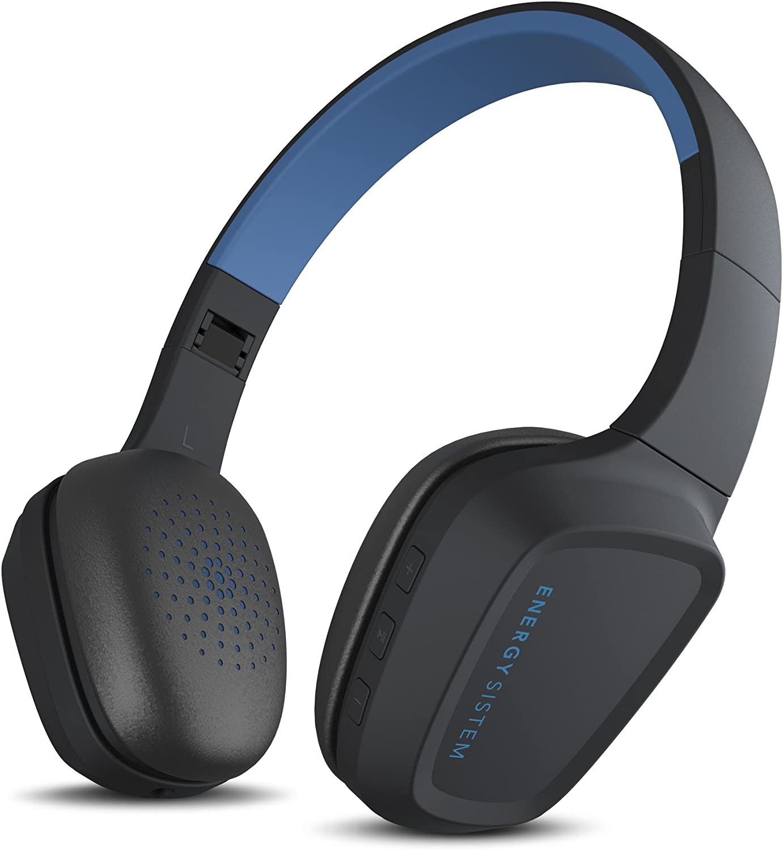 Energy Sistem Headphones 3 Bluetooth Blue (Auriculares inalambricos, Buetooth 4.1, Control de reproducción, Sistema de rotación, batería Recargable, Micrófono): Energy-Sistem: Amazon.es: Electrónica