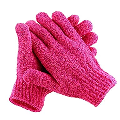 Cidere New Genuine Fine Bath Gloves Exfoliating Shower Mitts by The Body Shop Cold Weather Gloves
