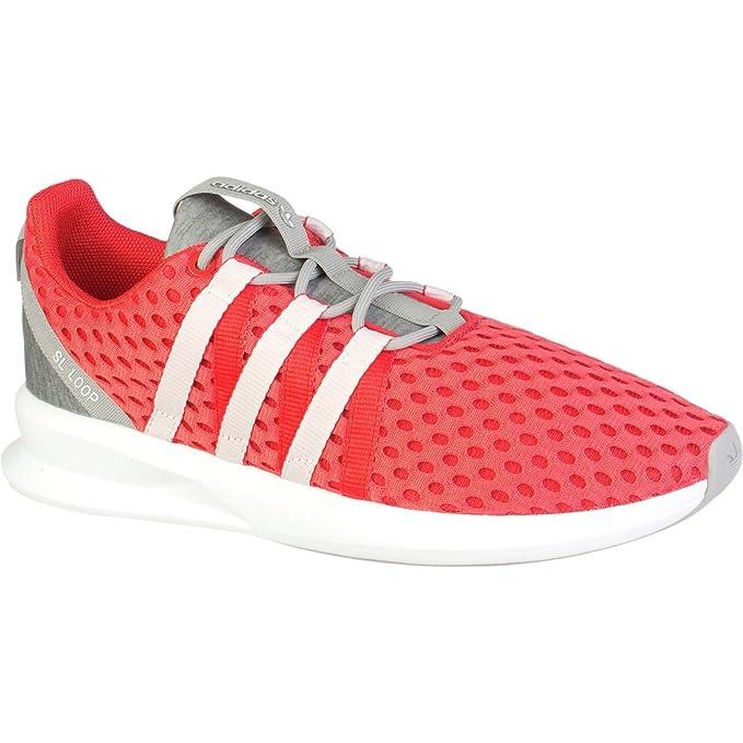 new arrivals 82879 10c59 Originales Adidas Sl Loop Racer W zapatillas deportivas (11, Tomate   blanco    gris