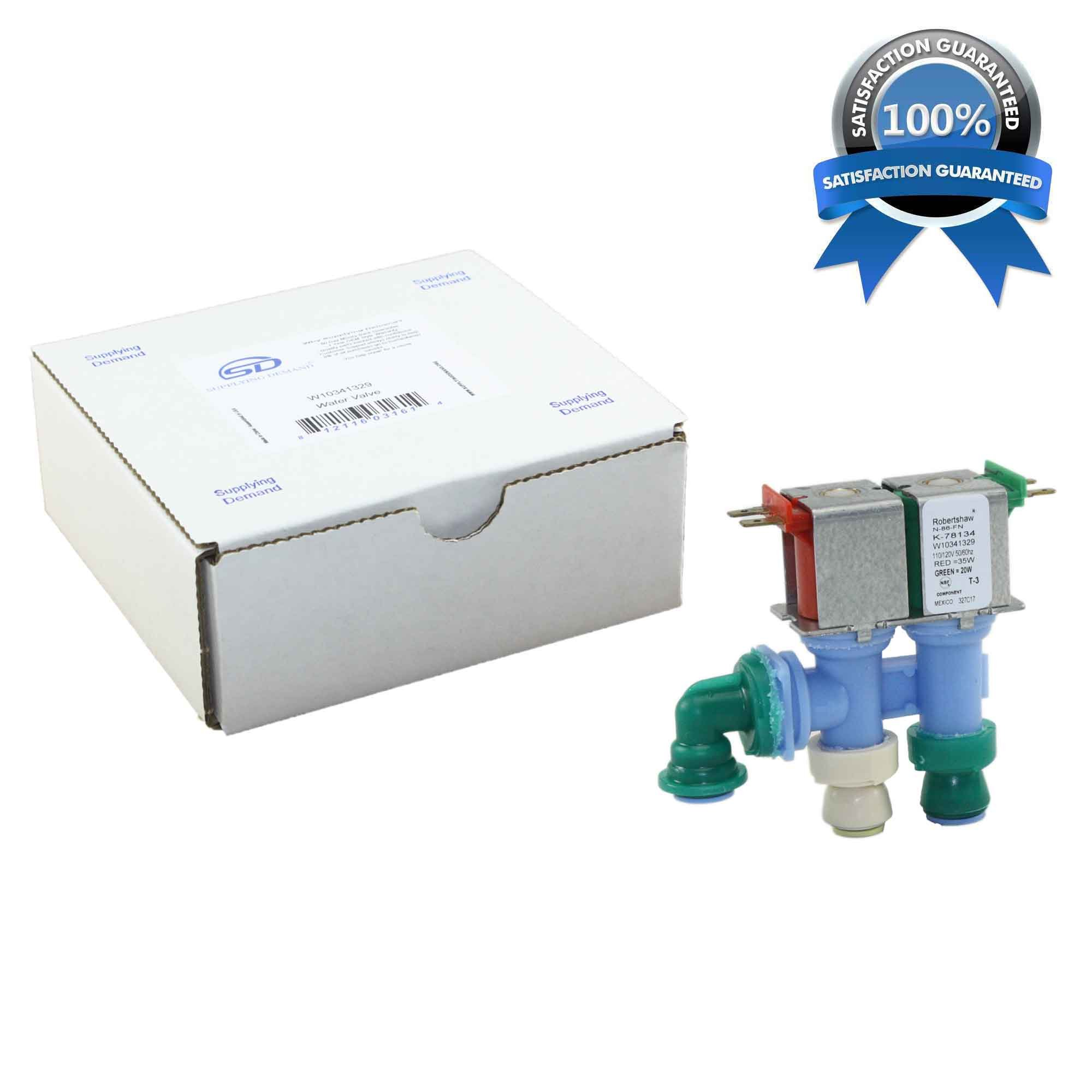 Supplying Demand W10341329 Refrigerator Dual Water Valve Works With AP6019940 by Supplying Demand (Image #2)