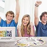 Cenblue® The Capricious Unicorn Card Game, Unstable Unicorns Base Game