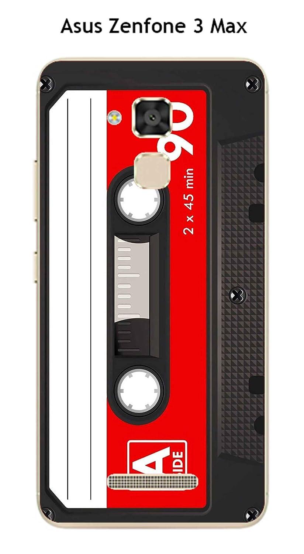 Carcasa Asus Zenfone 3 Max - zc520tl Design K7 color rojo ...