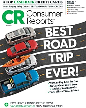 1-Year Consumer Reports [with Buying Guide] Magazine