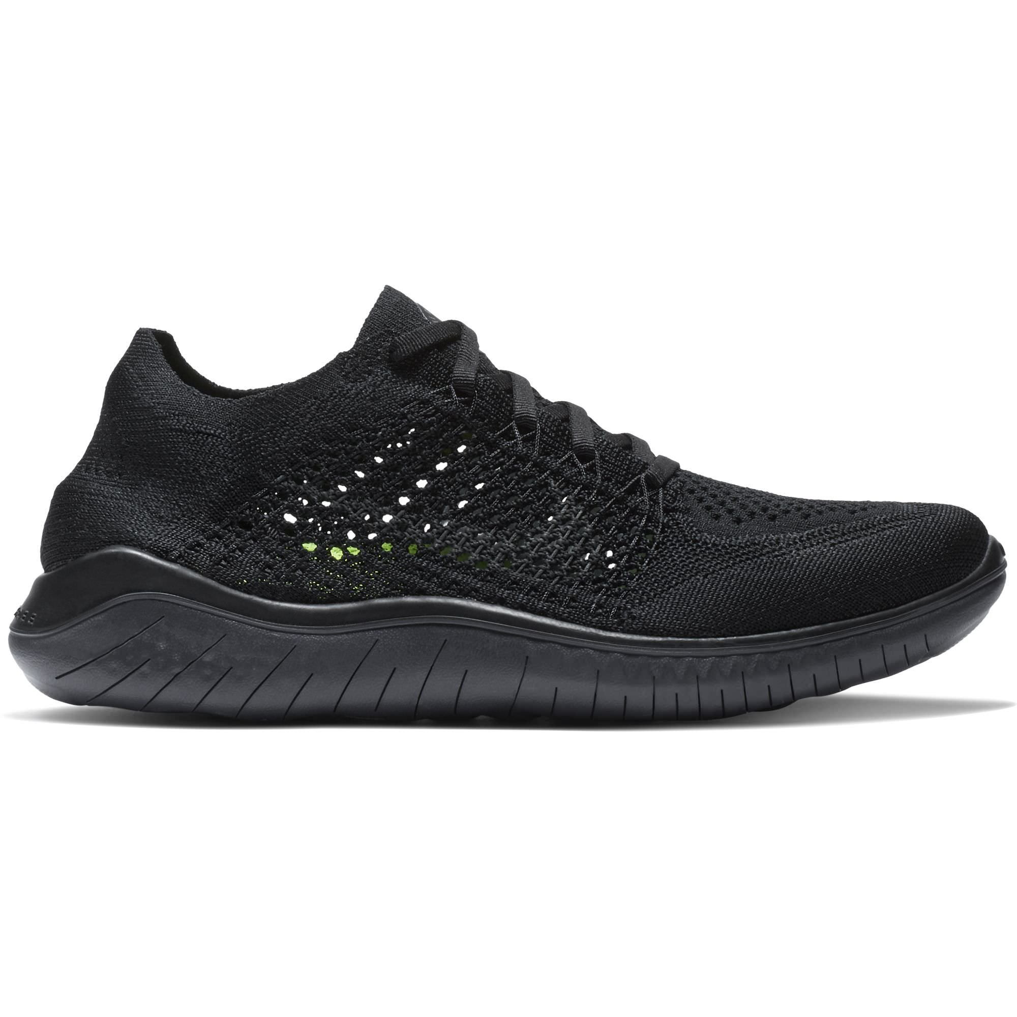 size 40 f3ab7 1bf4c Galleon - NIKE Women s Free RN Flyknit Running Shoe Black Anthracite 6