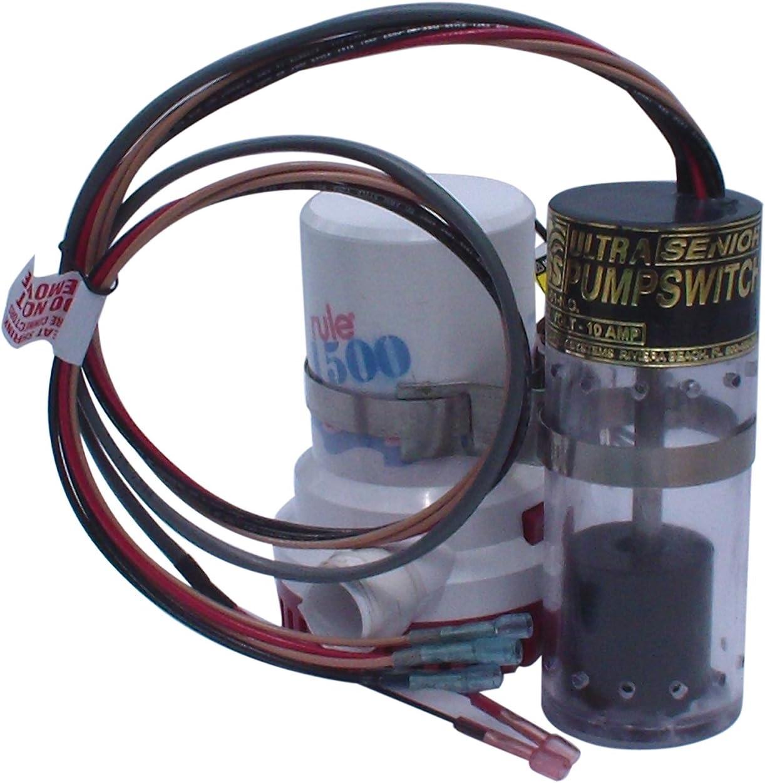 Ultra Pump Switch Mini Bilge Pump 12V