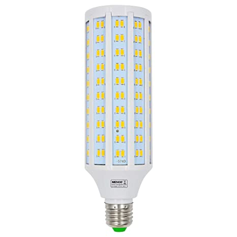 MENGS® Bombillas LED Lampe E27 30W AC 85-265V Blanco cálida 3000K 230x5730 SMD