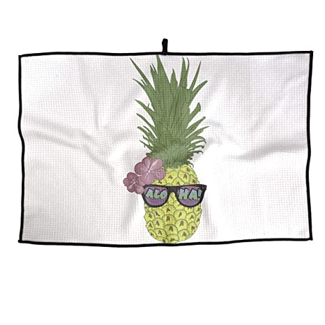 Amazon com : UYILP Aloha Beach Pineapple Hawaii Beach Grid