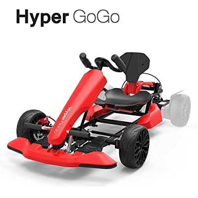 HYPER GOGO Go Kart Adjustable Frame Converter Kit Compatible with All Hoverboard Scooter US (Red): Sports & Outdoors