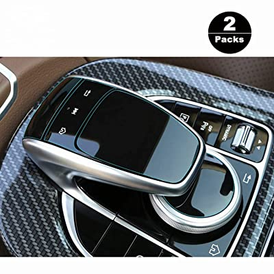 [2 Packs] Perfect for Mercedes Benz COMAND touchpad Navigation Touch Controller Touch Screen Sensitive Protector Invisible Ultra HD Clear Film Anti Scratch Skin Guard: GPS & Navigation
