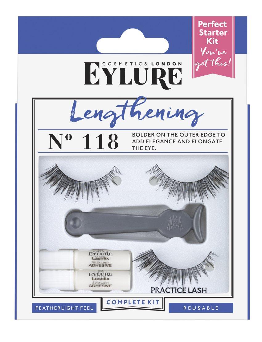 Eylure Lengthening Eyelash Starter Kit Number 118 6001318