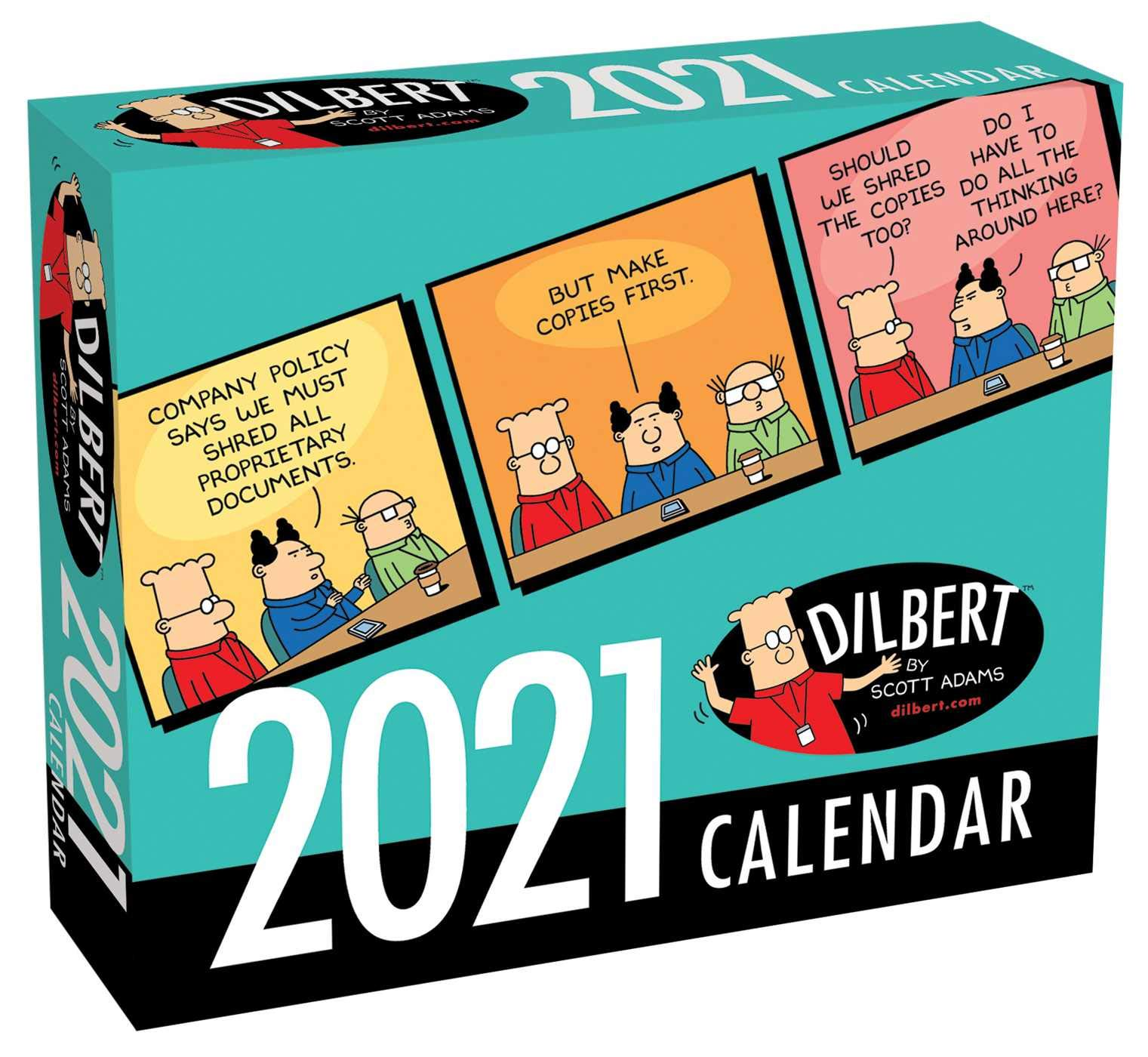 Dilbert 2021 Day-To-Day Calendar Dilbert 2021 Day to Day Calendar: Adams, Scott: 9781524857066