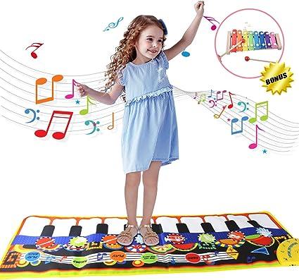 Kids électronique Sensible TOUCH /& Learn Musique Tapis de Jeu Garçon Filles MUSICAL Jouet Fun