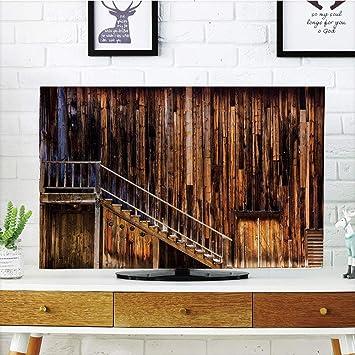 Cubierta de polvo para televisor LCD, fuerte durabilidad ...