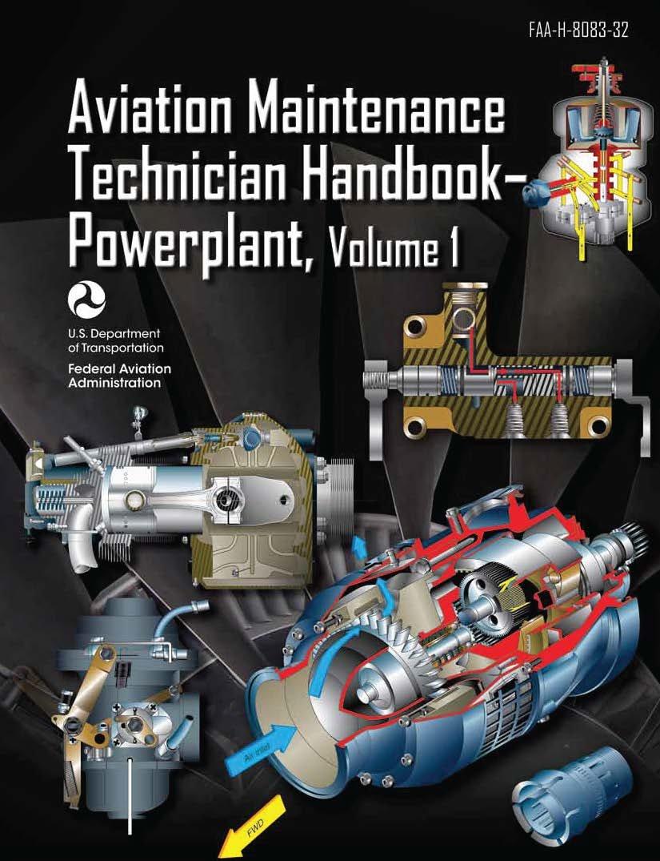 faa-h-8083-32-faa-h-8083-32-amt-powerplant-volume-1-aviation-maintenance-technical-handbook-black-and-white-loose-leaf-publication