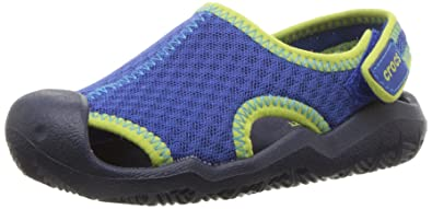 dc9724dd01a561 Crocs Unisex Kids Swiftwater Mesh Gladiator Sandals  Amazon.co.uk ...