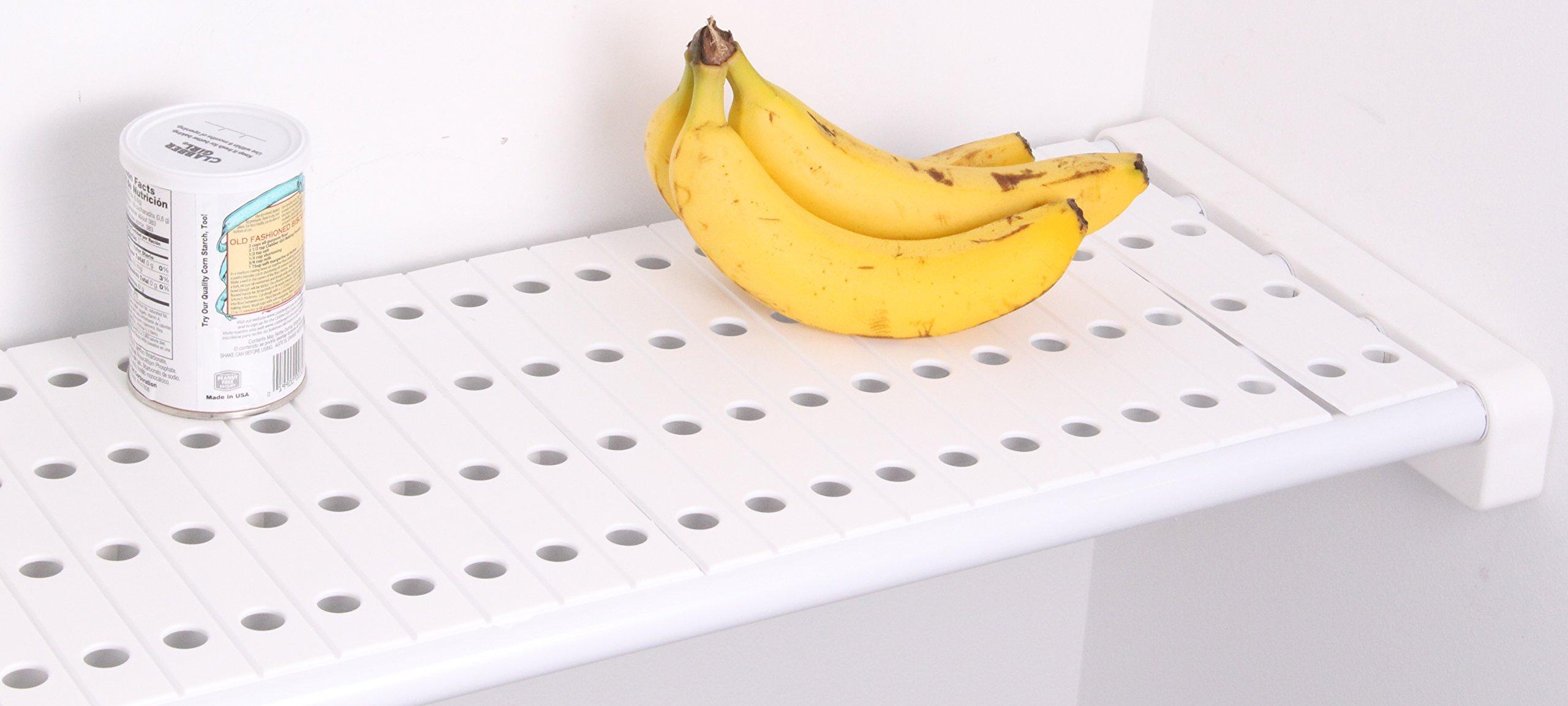EZ Shelf - Shelf Top ACCESORY ONLY for Closet and Garage Shelves - White