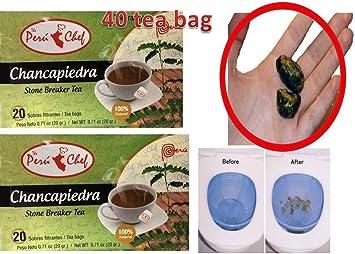 Amazon.com : 2 CHANCA PIEDRA Tea 40 Bags Chancapiedra Té 40 ...