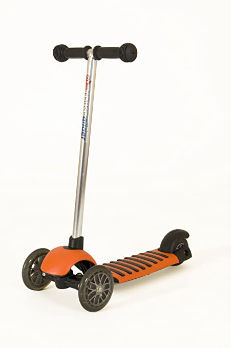 YBIKE Glider Deluxe Scooter, Orange, 12cm