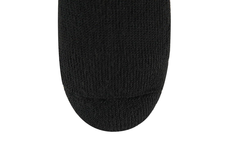 coupe ample paquet de 6 White10-13 chaussettes circulaires pour toutes les saisons Chaussettes pour diab/étiques demi-coussin pour hommes et femmes