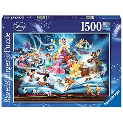 Ravensburger Disneys Magical Book of Fairytales Jigsaw Puzzle (1500 Piece): Toys & Games