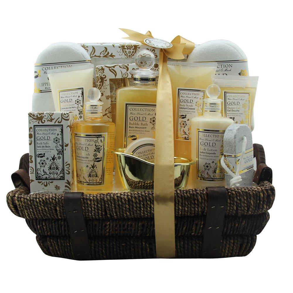 GLOSS! Coffret de Bain, Argan Oil, 3 Produits, Coffret Cadeau-Coffret de bain AO-02