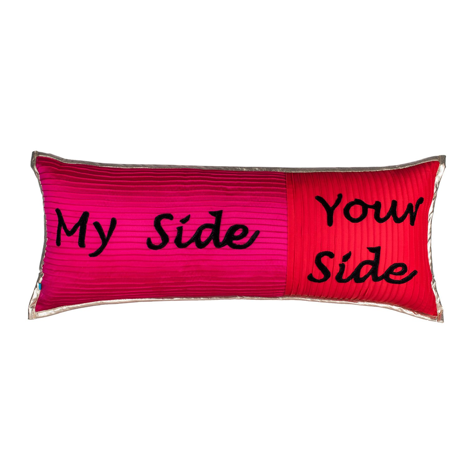 The Pink Champa Big Long Bolster Cute Quote Rectangle Decorative Accent Throw Pillow Cover for Home D/écor Red Pink
