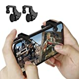 PUBG Mobile Game Triggers, L1R1 Sensitive Shoot and Aim Mobile Game Controller for PUBG Mobile/Fortnite Mobile, 1 Pair