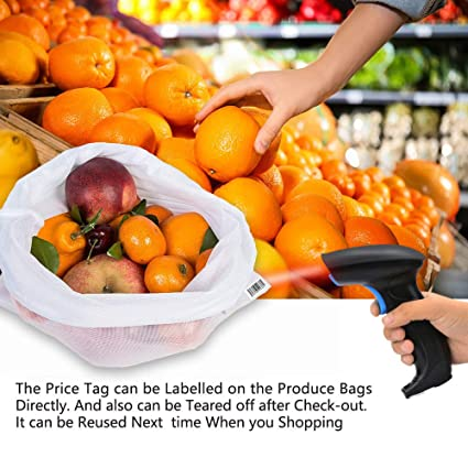 geeignet f/ür Obst und Gem/üse Basketball 10 St/ück Wiederverwendbare einkaufsbeutel Gr/ö/ße: 11.8*15.7inch Spielzeug Micv obst tasche