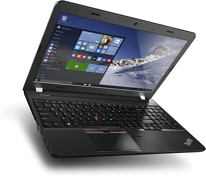 Lenovo ThinkPad Edge E560 15.6-Inch Business Laptop: Intel Core i5-6200U, 8GB RAM, 500GB HDD, FingerPrint Reader, DVD+RW, 802.11AC, Windows 7 Professional 64-bit