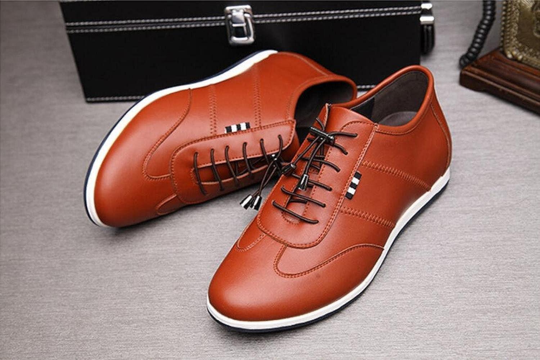 LEDLFIE Männer Sport Freizeitschuhe Mode Lace-up Atmungsaktive Board Schuhe Atmungsaktive Lace-up Weiße Schuhe 83990d