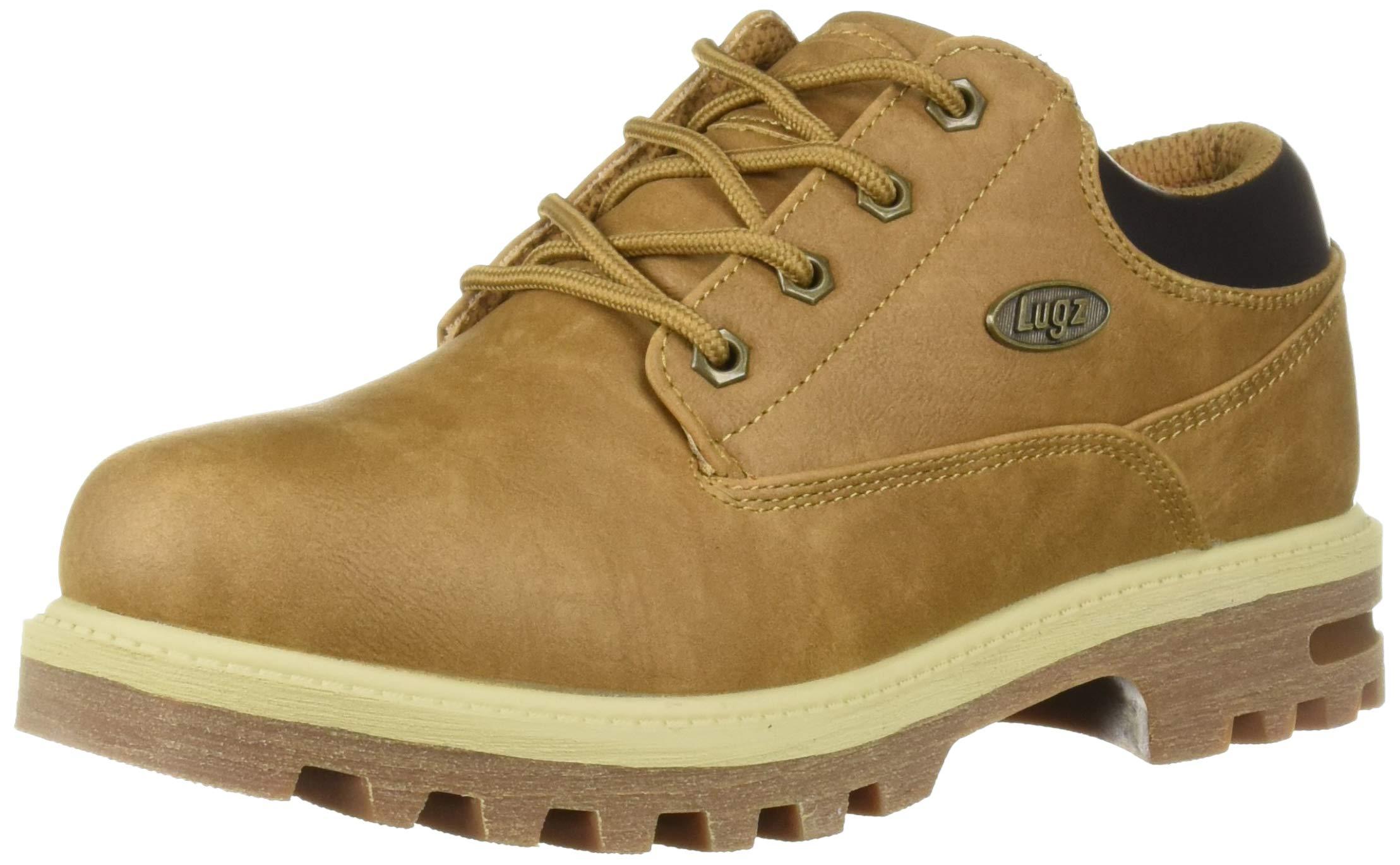 Lugz Men's Empire Lo WR Oxford Boot Autumn Wheat/bark/Cream/Gum 9.5 D US