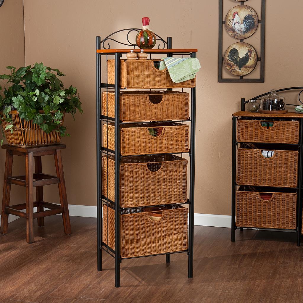 4 Drawer Storage Unit Basket Laundry Chest & Basket Drawers Storage Units - Best Drawer 2018