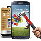 [3 Pack] [Lifetime Warranty] SamSung S4 Screen Protector, InaRock 0.26mm 9H Tempered Glass Screen Protector for Samsung Galaxy S4 I337 I545 M919 I9500 L720 Most Durable [Easy-Install Wings]