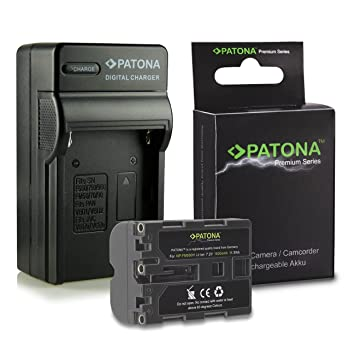 Cargador de batería para Sony Alpha d-SLR a200 a300 a350 a500 a550 a700 a850