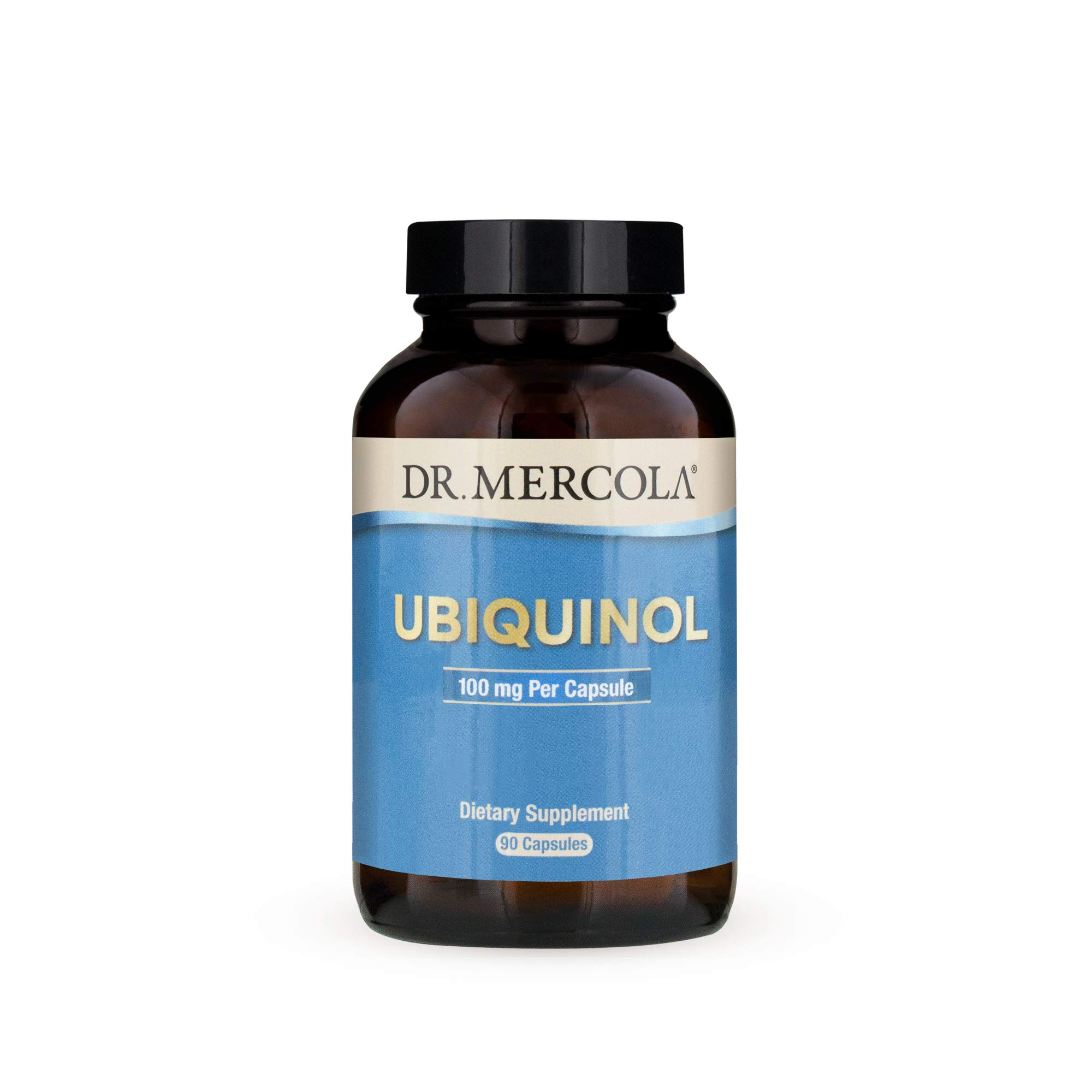 Dr. Mercola, Ubiquinol Dietary Supplement, 100 mg, 90 Servings (90 Capsules), non GMO, Supports Overall Health and Wellness, Soy Free, Gluten Free by Dr. Mercola