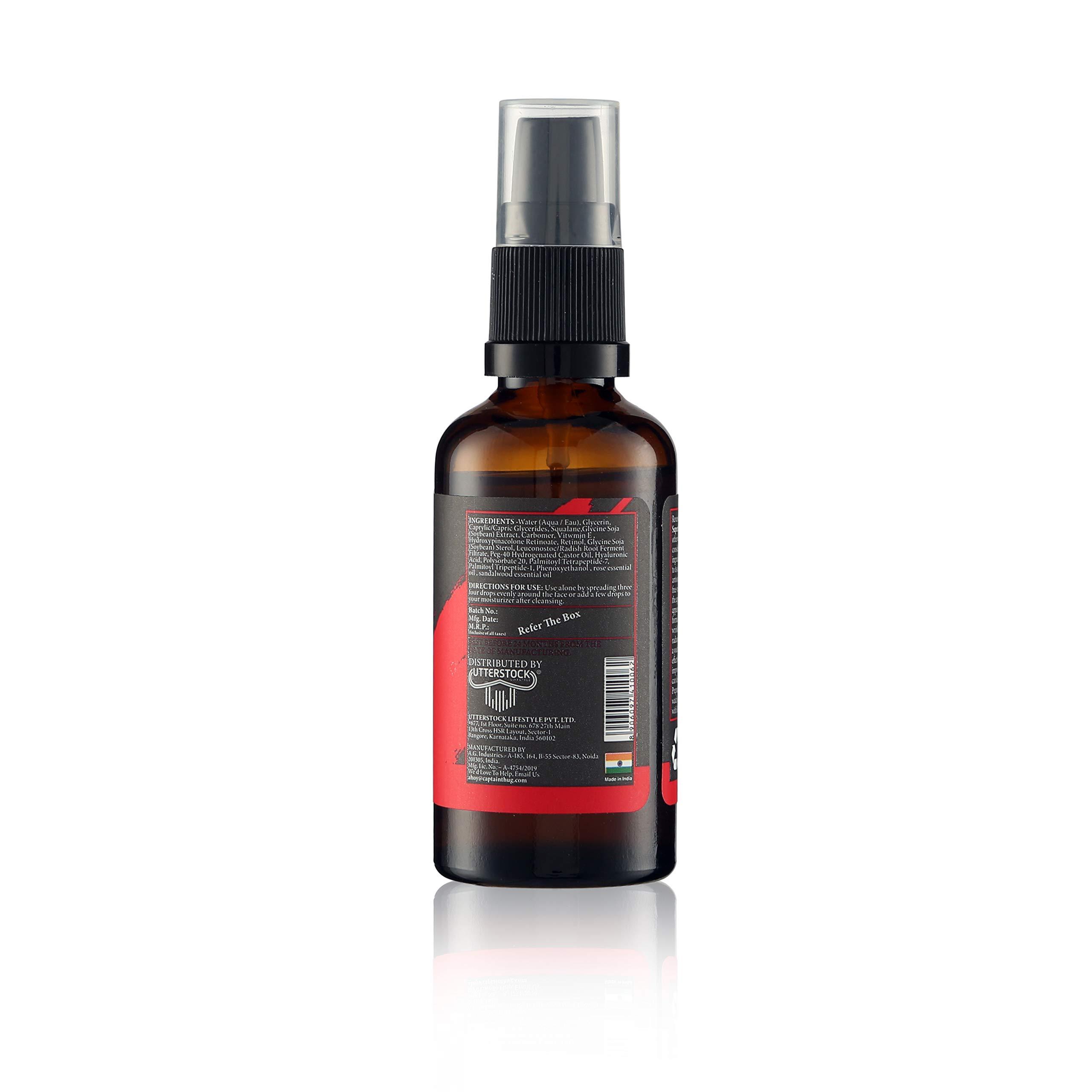 Redux Supercharged Retinol + Vitamin E & Hyaluronic Acid, Facial Serum - 1.7 fl oz - Anti Aging/Wrinkle Serum