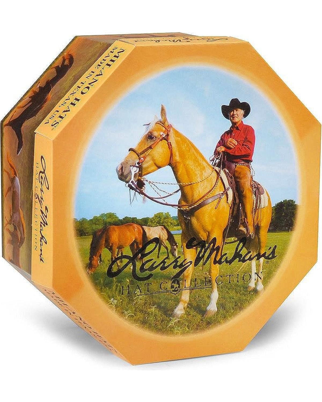 b2d4b4d6a0a84 Amazon.com  Larry Mahan Men s Platinum Independencia 100X Fur Felt Cowboy  Hat - Mf5065 Plat  Clothing