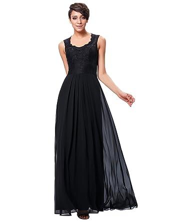 Kate Kasin Damen Elegant Abendkleider Lang Brautjungfernkleid ...