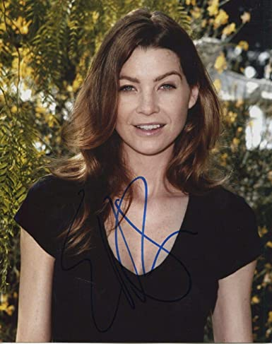 a0b3e48839971 Ellen Pompeo Signed Autograph Grey's Anatomy Dr. Meredith Grey 8x10 ...