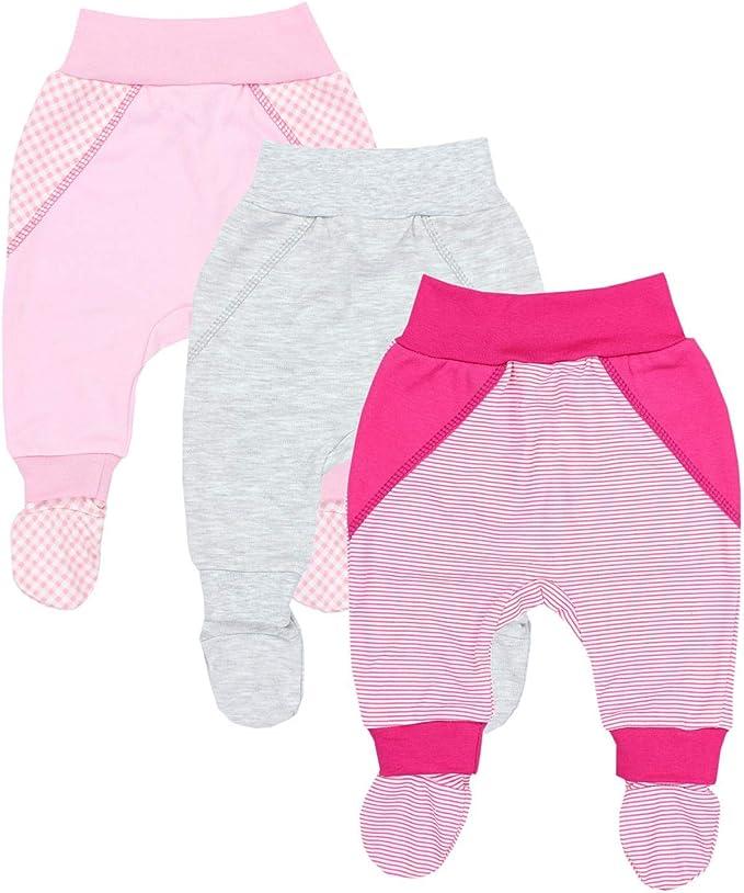 TupTam Baby M/ädchen Lange Pumphose 3er Pack