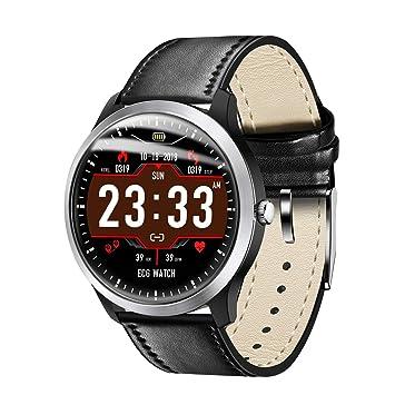 Relojes inteligentes móviles Relojes inteligentes para hombres Reloj deportivo con monitor de ritmo cardíaco, IP67