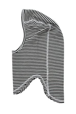 cac0c24cc0 Amazon.com: Merino Balaclava B+W Stripe (6-12m): Clothing