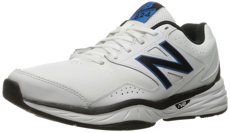 New Balance Men's MX824v1 Training Shoe B01FSD86OU 15 4E US|White