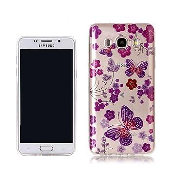 RUIST Samsung J5 (2017) Funda,Ultra Delgado Silicona Glitter ...