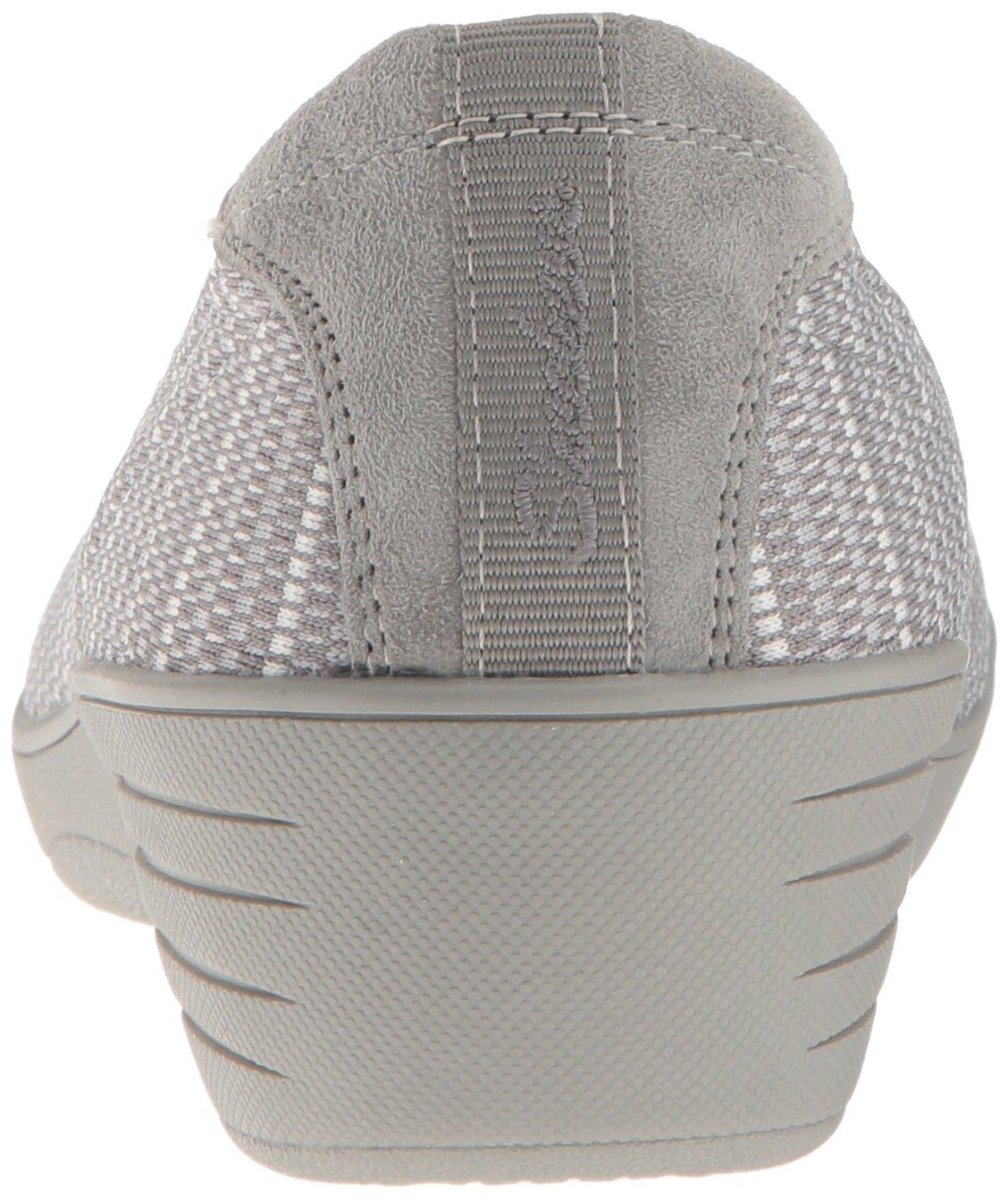 Skechers Women's Kiss-Secret Wedge Pump,Grey,7 M US by Skechers (Image #2)