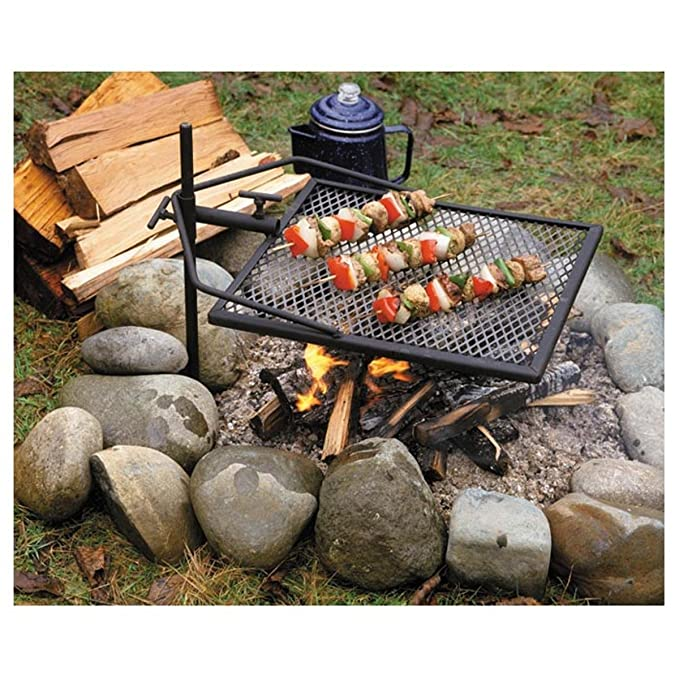 Amazon.com: Parrilla Adjust-A-Grill, 13570: Sports & Outdoors